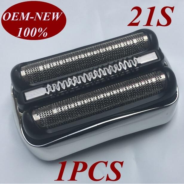 [해외]1Pcs 21S Foil Frame Replace head razor blade for braun shaver 21B 301S 310S 320S 330S 340S 360S 3000S 3010S 3020S S3 3050S 3090s/1Pcs 21S Foil Fra