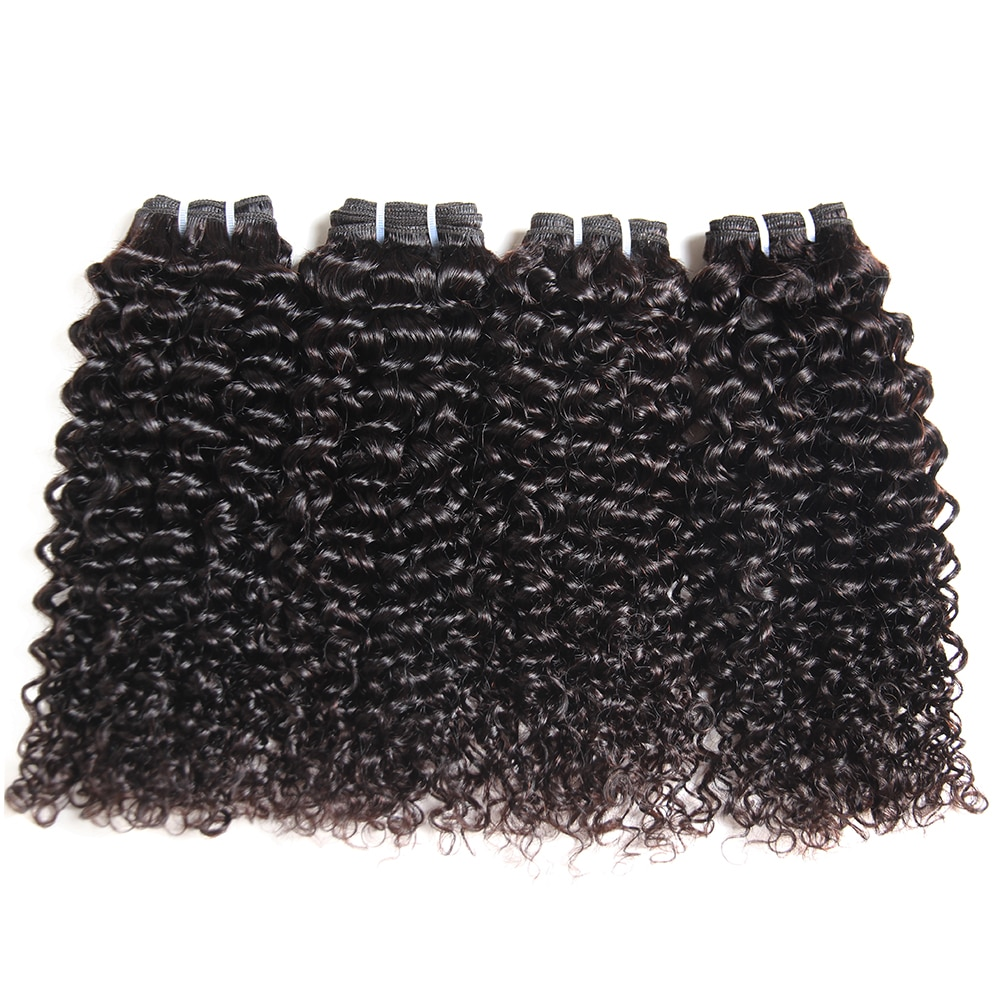 Morichy Hair Kinky Curly Bundles Brazilian Double Drawn Curly Weave Bundles 50g/pcs Human Hair Weft Remy